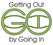 Getting Out by Going In Logo