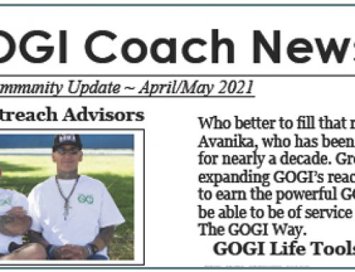 The GOGI Coach News — April/May 2021