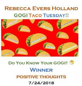 GOGI TACO TUESDAY_do you know your GOGI_Rebecca